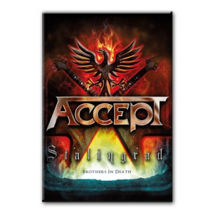 ACCEPT Stalingrad - Heavy metal магнит на холодильник #1.80.077