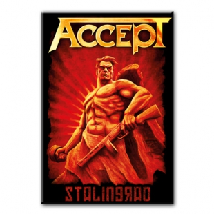 ACCEPT Stalingrad - Heavy metal магнит на холодильник  #1.80.078
