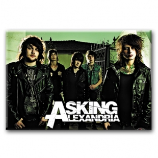 ASKING ALEXANDRIA -  Heavy metal магнит на холодильник  #1.80.127