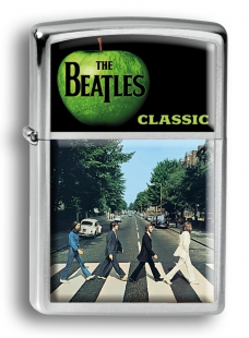Zippo зажигалка THE BEATLES ABBEY ROAD #ZC-001