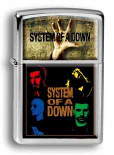 Зажигалка Zippo SYSTEM OF A DOWN #ZR-053