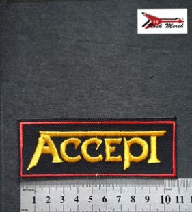 Нашивка RockMerch ACCEPT