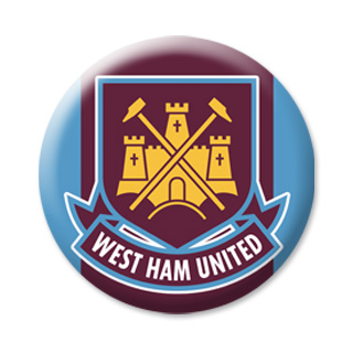 WEST HAM United - Магнит на холодильник  ФМ-50.1.030