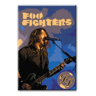 FOO FIGHTERS  - Рок магнит на холодильник #1.80.017