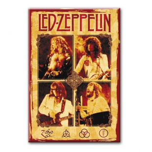 LED ZEPPELIN - Магнит на холодильник #1.80.028