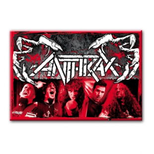 ANTHRAX - Heavy metal магнит на холодильник #1.80.005