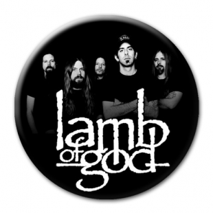 LAMB OF GOD - Рок магнит на холодильник #1.50.029